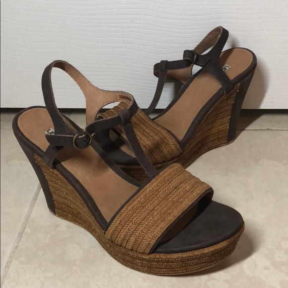 cc346fbcc921 UGG Shoes - Ugg Wedges - Never Worn